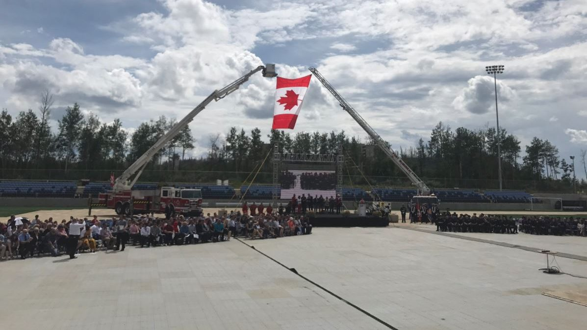 horse river wildfire honouring